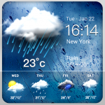 Daily weather forecast widget (Premium Cracked) 16.6.0.6245_50117