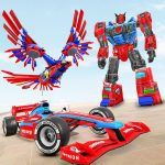 Eagle Robot Car Game – Formula Car Robot Games (Premium Cracked) 1.0.9