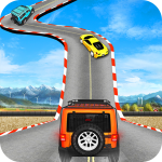 GT Jeep Impossible Mega Dangerous Track   (MOD, Unlimited Money) 0.1