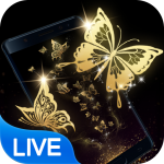 Gold Butterfly Live Wallpaper (Premium Cracked) 2.3.0