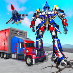 Indian Police Robot Transform Truck (MOD, Unlimited Money) 1.13