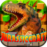 JurassicCraft: Free Block Build & Survival Craft (MOD, Unlimited Money) 5.0.5