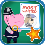 Kids Policeman games: Hippo Detective (MOD, Unlimited Money) 1.1.4