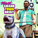 Miami Gangster Grand Town Heist: Real Gangster 3D (Premium Cracked) 3.9