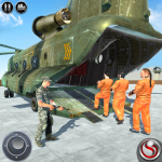OffRoad US Army Helicopter Prisoner Transport Game (MOD, Unlimited Money) 2.3