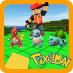 Pixelmon Trainer Craft: New Game 2020 Catch Poсket (MOD, Unlimited Money) 2.0