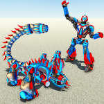 Scorpion Robot Transforming – Robot shooting games (Premium Cracked) 1.1.4