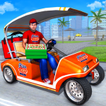 Smart Taxi Pizza Delivery Boy: New Driving Games (Premium Cracked) 1.0.8
