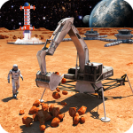 Space Station Construction City Planet Mars Colony (MOD, Unlimited Money) 1.6