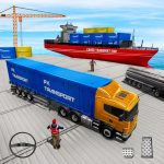 Transport Ship Euro Truck Cargo Transport Games (MOD, Unlimited Money) 1.7