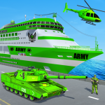 US Army Ship Transport:Tank Simulator Games (Premium Cracked) 1.18