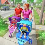 Virtual Mother New Baby Twins Family Simulator (MOD, Unlimited Money) 2.1.5