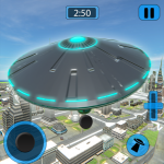 Alien Flying UFO Simulator Space Ship Attack Earth (MOD, Unlimited Money) 1.4