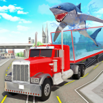 Angry Shark Sea Animal Transport Truck Driving (Premium Cracked) 4.0.1