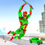 Army Robot Rope hero – Army robot games (MOD, Unlimited Money) 2.2