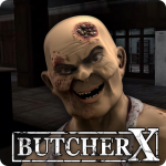 Butcher X – Scary Horror Game/Escape from hospital (MOD, Unlimited Money) 1.9.9