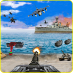 Call of Beach Defense: FPS Free Fun 3D Games (MOD, Unlimited Money) 1.3
