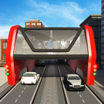 Elevated Bus Simulator: Futuristic City Bus Games (MOD, Unlimited Money) 2.4