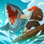 Epic Raft Fighting Zombie Shark Survival Games   (MOD, Unlimited Money) 1.0.3