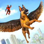 Flying Super Hero Dog City Animal Rescue (Premium Cracked) 1.0.2