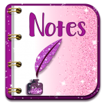 Glitter Notepad Notes (Premium Cracked) 1.0.2