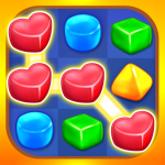 Gummy Paradise – Free Match 3 Puzzle Game (MOD, Unlimited Money) 1.4.9