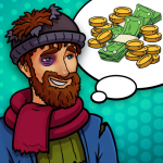 Hobo Life: Business Simulator & Money Clicker Game (MOD, Unlimited Money) 1.7