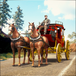 Horse Taxi City Transport: Horse Riding Games (MOD, Unlimited Money) 1.2.1