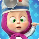 Masha and the Bear: Free Animal Games for Kids   (MOD, Unlimited Money) 4.0.6