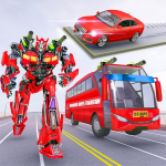 Muscle car robot game – Bus robot transform games (MOD, Unlimited Money) 1.4