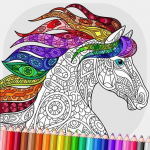 Relaxing Adult Coloring Book  2.9