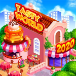 TASTY WORLD: Kitchen tycoon – Burger Cooking game (MOD, Unlimited Money)1.4.50