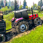Tractor Pull & Farming Duty Game 2019   (MOD, Unlimited Money) 1.0