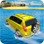 Water Surfer Jeep Cars Race on Miami Beach (MOD, Unlimited Money) 1.5