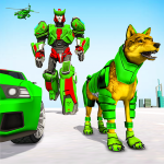 Wolf Robot Transforming Games – Robot Car Games (MOD, Unlimited Money) 1.0.20