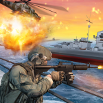 World War Naval Warfare: Navy Battle 3D (MOD, Unlimited Money) 1.4