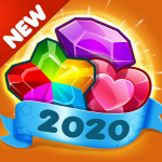 Addictive Gem Match 3 – Free Games With Bonuses (MOD, Unlimited Money) 5.3.9