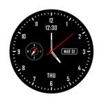 Analog clock & watch face live wallpaper (Premium Cracked) 2.2.0.2540