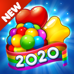 Candy Craze 2020: Match 3 Games Free New No Wifi (MOD, Unlimited Money) 2.3.3