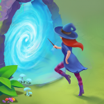 Charms of the Witch: Magic Mystery Match 3 Games (MOD, Unlimited Money) 2.24.0