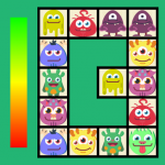 Connect: cute monsters and food. Free casual game (MOD, Unlimited Money) v1.3.50