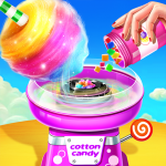💜Cotton Candy Shop – Cooking Game🍬 (MOD, Unlimited Money) 6.1.5026