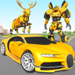 Deer Robot Car Game – Robot Transforming Games (MOD, Unlimited Money) 1.0.6