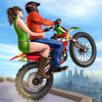 Extreme Rooftop Bike Rider Sim : Bike Games (MOD, Unlimited Money) 2.9