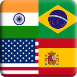 Flags Quiz Gallery : Quiz flags name and color (MOD, Unlimited Money) Flag 1.0.183