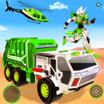 Flying Garbage Truck Robot Transform: Robot Games (Premium Cracked) 24