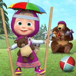 Free games: Masha and the Bear (MOD, Unlimited Money) 1.4.4