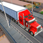 Heavy truck simulator USA (MOD, Unlimited Money) 1.3.8