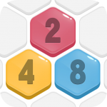 HexPop:Make number to 2048,Free Merge PuzzleGames (MOD, Unlimited Money) 2.201