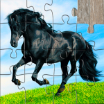 Horse Jigsaw Puzzles Game – For Kids & Adults 🐴 (MOD, Unlimited Money) 25.2